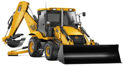 Backhoe frontloader leasing